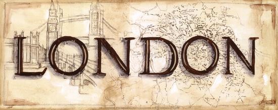 London-Ann Brodhead-Art Print