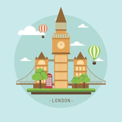London-Wonderful Dream-Art Print