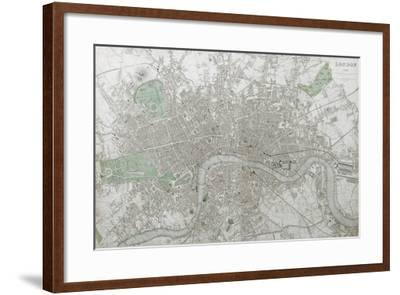 London--Framed Giclee Print