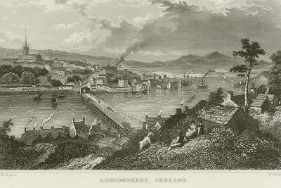 Londonderry-Thomas Mann Baynes-Giclee Print