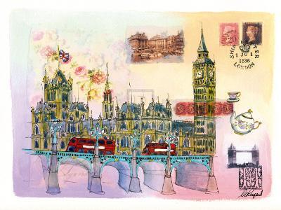 Londres Mon Amour-Martine Rupert-Art Print