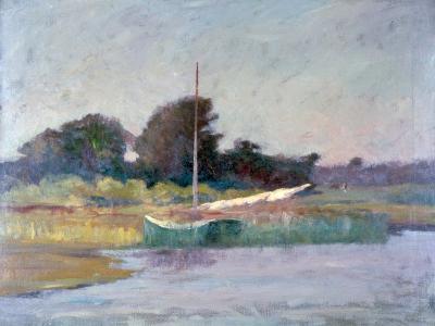 Lone Boat, C1868-1917-Walter Clark-Giclee Print