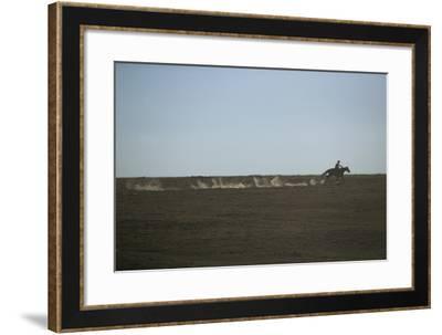 Lone Cowboy-DLILLC-Framed Photographic Print