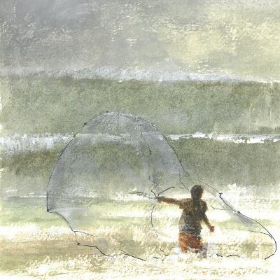 Lone Fisherman 4, 2015-Lincoln Seligman-Giclee Print