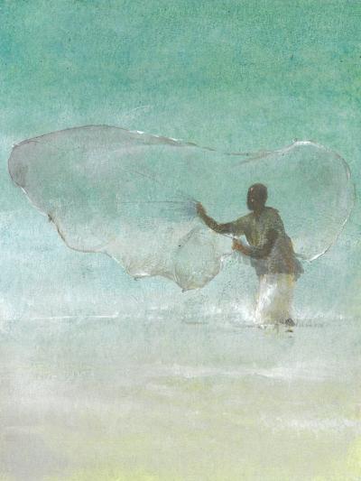 Lone Fisherman 5, 2015-Lincoln Seligman-Giclee Print