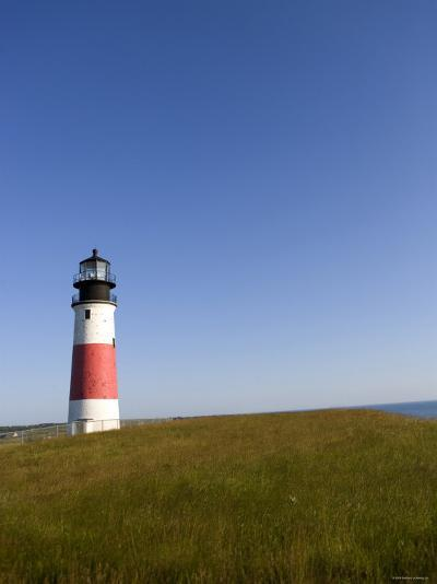 Lone Lighthouse--Photo