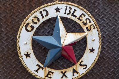 Lone Star of Texas, John Mueller Meat Company, Austin, Texas, USA-Chuck Haney-Photographic Print