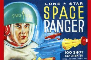 Lone Star Space Ranger 100 Shot Cap Repeater