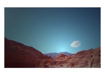 Lonely Cloud-NaxArt-Art Print