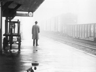 Lonely Commuter-FPG-Photographic Print
