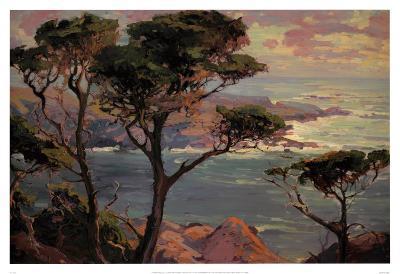 Lonely Headlands, Point Lakes-Franz Arthur Bischoff-Art Print
