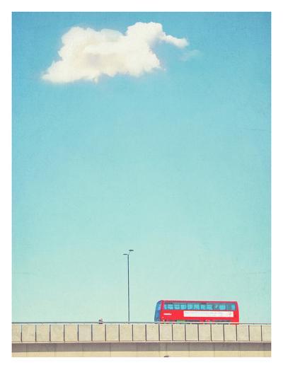 Lonely Skies London-Mina Teslaru-Art Print