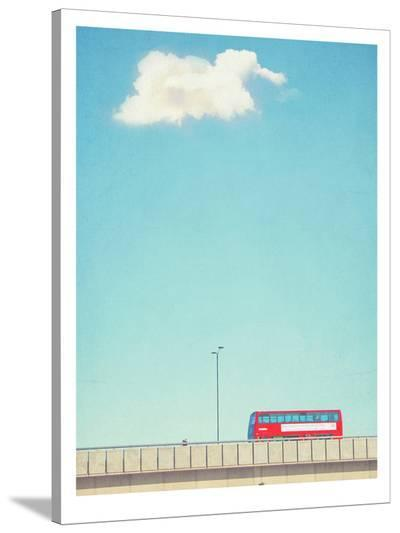 Lonely Skies London-Mina Teslaru-Stretched Canvas Print