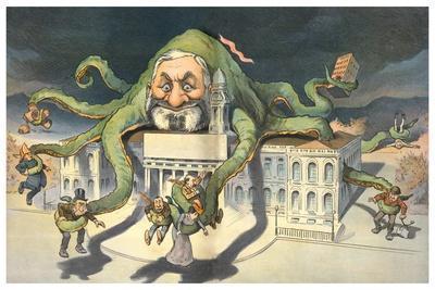 Long Arms Of Politicians-JS Pughe-Art Print