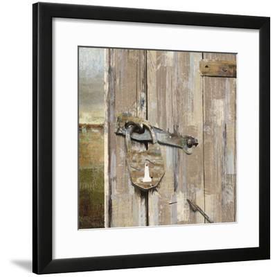 Long Barn - Barn Door-Mark Chandon-Framed Giclee Print