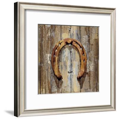 Long Barn - Horseshoe-Mark Chandon-Framed Art Print