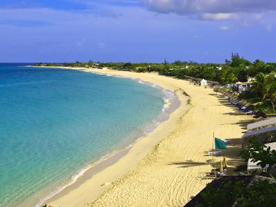 Long Beach, St. Martin, Netherlands Antilles, Caribbean-Michael DeFreitas-Photographic Print