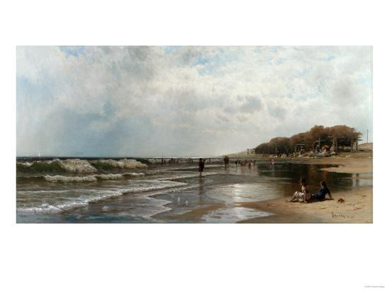 Long Branch, New Jersey, 1880-Alfred Thompson Bricher-Giclee Print
