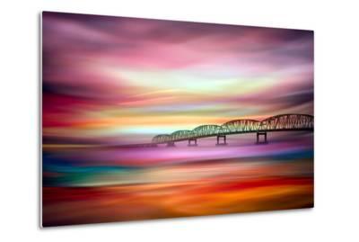 Long Bridge to Astoria-Ursula Abresch-Metal Print