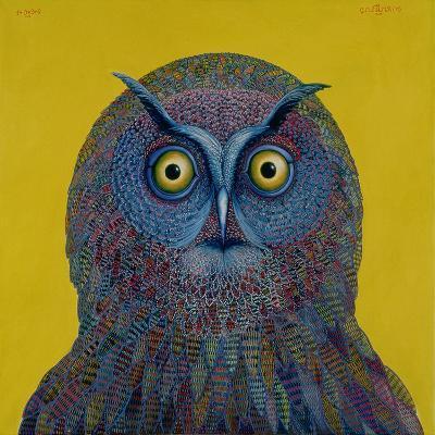 Long-Eared Owl, 1996-Tamas Galambos-Giclee Print