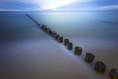 Long Exposure Seascape At The Coast Of The Baltic Sea Near Rerik, Germany-Axel Brunst-Photographic Print