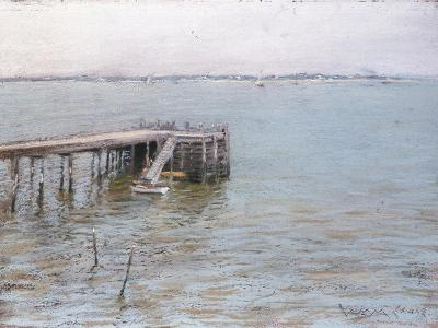 Long Island Pier-William Merritt Chase-Giclee Print
