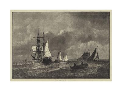 Long Island Sound--Giclee Print