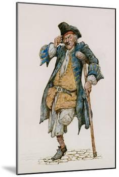 Long John Silver-Peter Jackson-Mounted Giclee Print