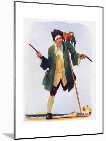 Long John Silver-null-Mounted Giclee Print