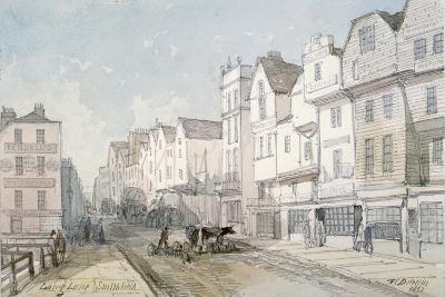 Long Lane, City of London, 1851-Thomas Colman Dibdin-Giclee Print