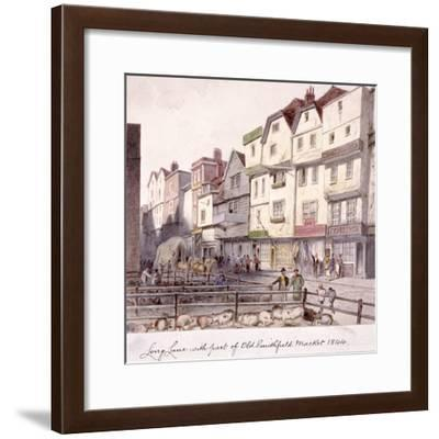 Long Lane, Smithfield, London, 1844--Framed Giclee Print