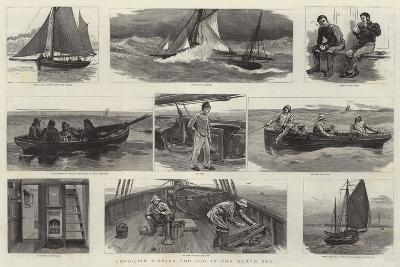 Long-Line Fishing for Cod in the North Sea-Joseph Nash-Giclee Print