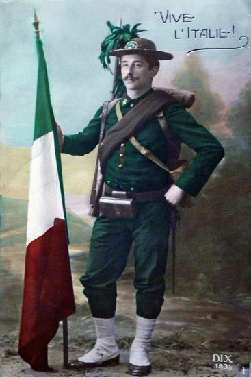 Long Live Italy, 1915--Giclee Print