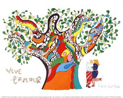 Long Live Love-Niki De Saint Phalle-Art Print