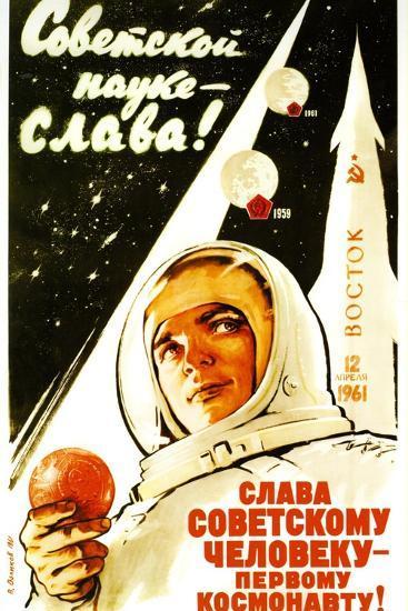Long Live Soviet Science, Long Live the Soviet Man--Art Print