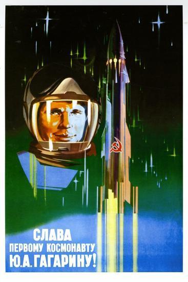 Long Live the First Astronaut--Art Print