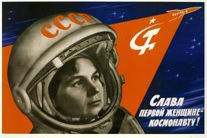 Long Live the First Woman Astronaut