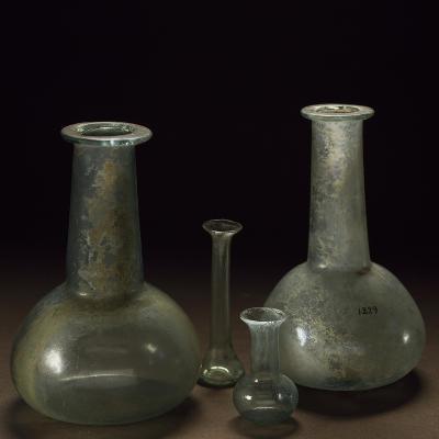 Long Neck Glass Jars--Giclee Print