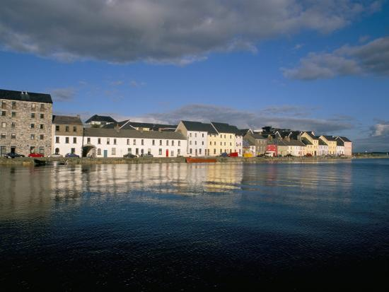 Long Walk View from Claddagh Quay, Galway Town, County Galway, Connacht, Eire (Ireland)-Bruno Barbier-Photographic Print
