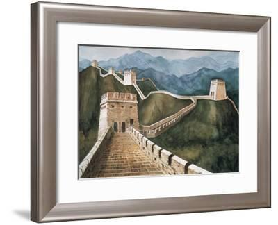 Long Wall-Chuankuei Hung-Framed Giclee Print