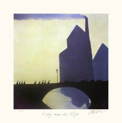 Long was the Night-Mackenzie Thorpe-Collectable Print