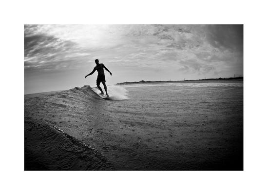 Longboard-Matthew Lusk-Giclee Print