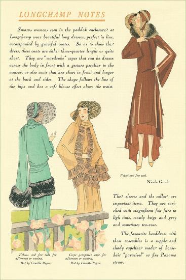 Longchamp Notes--Art Print