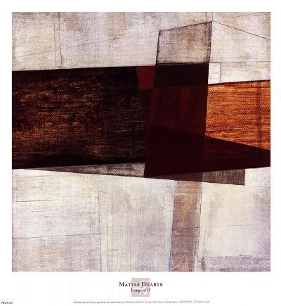 Longcut II-Matias Duarte-Art Print