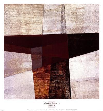Longcut III-Matias Duarte-Art Print