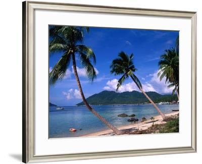 Longest Beach on Island Hat Sai Ri, Thailand-Richard Nebesky-Framed Photographic Print
