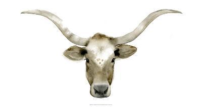 Longhorn Steer II-Grace Popp-Art Print