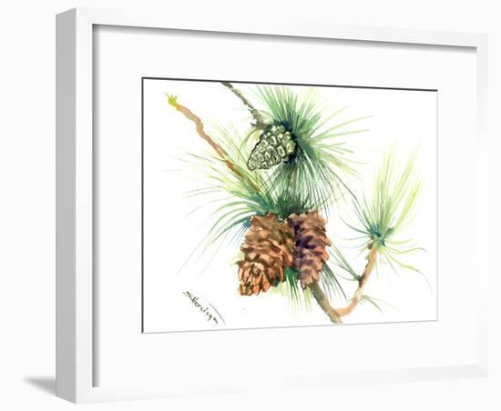 Longleaf Pine Tree 2-Suren Nersisyan-Framed Art Print