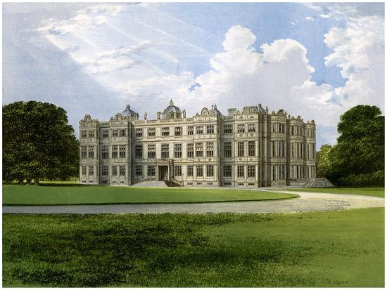 Longleat, Home of the Marquess of Bath, Wiltshire, C1880-AF Lydon-Giclee Print