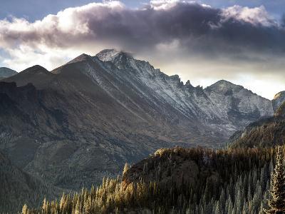 Longs Peak in Rocky Mountain National Park Near Estes Park, Colorado.-Ryan Wright-Photographic Print